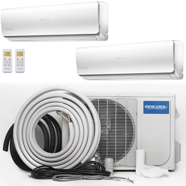 MrCool Olympus 48K BTU 22.4 SEER Ductless Heat Pump Multi Split Bundle - TinyHouseSupplyShop.com