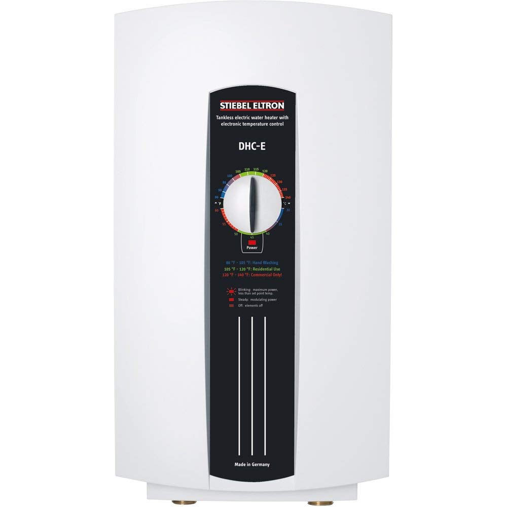 Stiebel Eltron 230628 240V, 12 kW DHC-E12 Single/Multi-Point-of-Use Tankless Electric Water Heater - TinyHouseSupplyShop.com