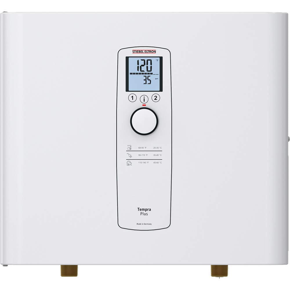 Stiebel Eltron 24 Plus Tempra, Tankless Water Heater, White - TinyHouseSupplyShop.com