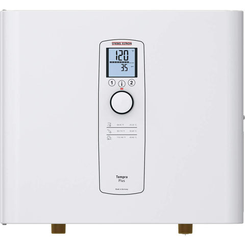 Image of Stiebel Eltron 24 Plus Tempra, Tankless Water Heater, White - TinyHouseSupplyShop.com