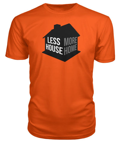 Image of Less House More Home Premium Tee - TinyHouseSupplyShop.com