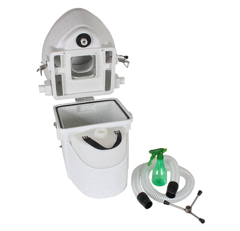 Image of Nature's Head Self Contained Composting Toilet with Close Quarters Spider Handle Design - TinyHouseSupplyShop.com