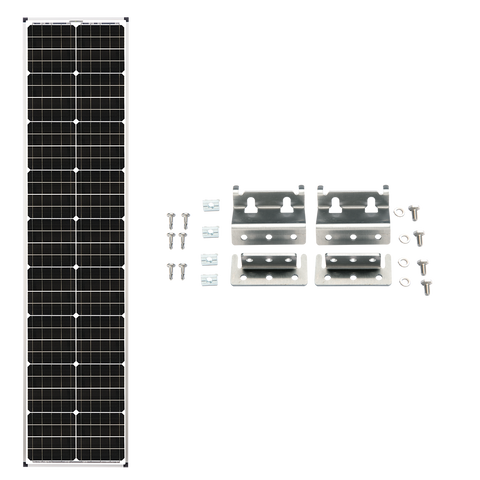 Zamp Solar 90 Watt Long Series Deluxe Solar Panel Expansion Kit - TinyHouseSupplyShop.com