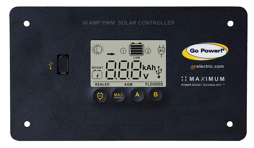 Go Power! Weekender SW Complete Solar and Inverter System with 160 Watts of Solar - TinyHouseSupplyShop.com
