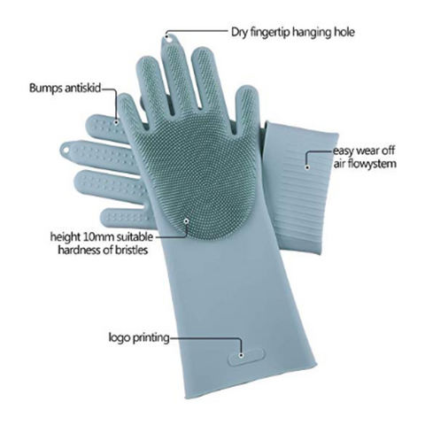 Image of Silicone Gloves Brush Pair - TinyHouseSupplyShop.com