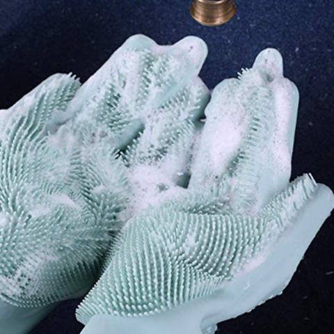 Silicone Gloves Brush Pair - TinyHouseSupplyShop.com