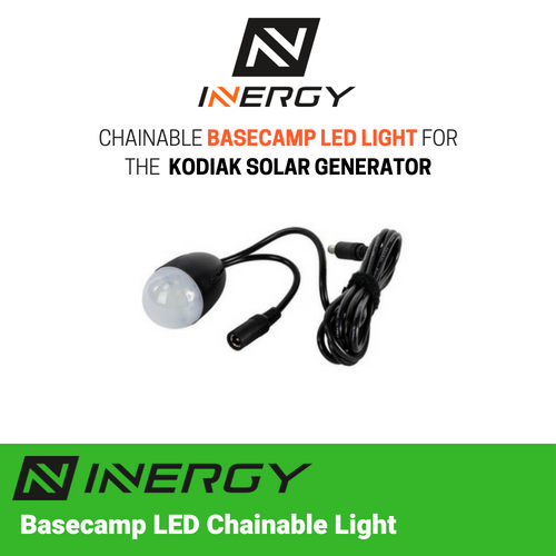 Inergy Solar Basecamp 6 Watt Chainable LED Light - TinyHouseSupplyShop.com