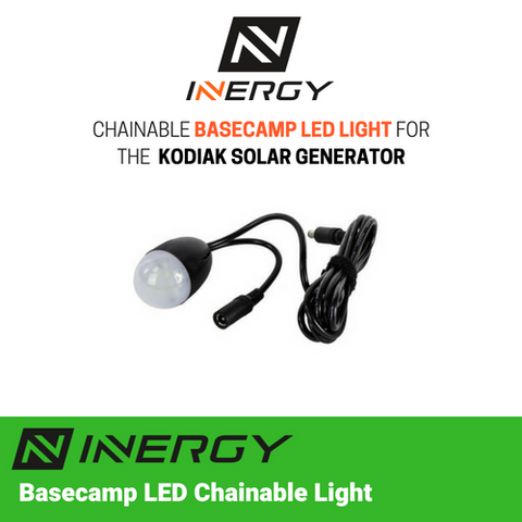 Image of Inergy Solar Basecamp 6 Watt Chainable LED Light - TinyHouseSupplyShop.com