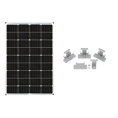 Zamp Solar Deluxe 115W Solar Panel Expansion Kit - TinyHouseSupplyShop.com
