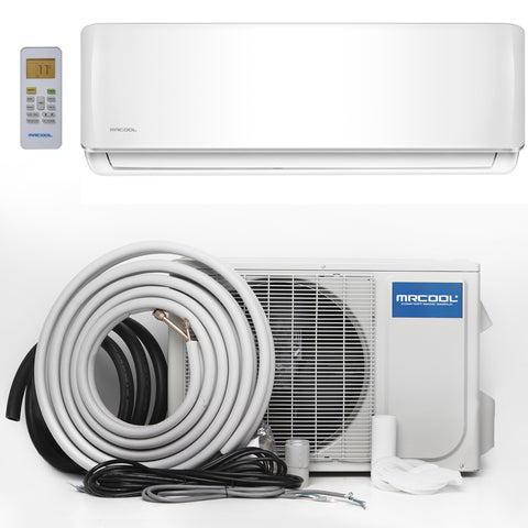 Image of MRCOOL Oasis ES 12K Mini Split Air Conditioner And Heat Pump 21.5 SEER - TinyHouseSupplyShop.com