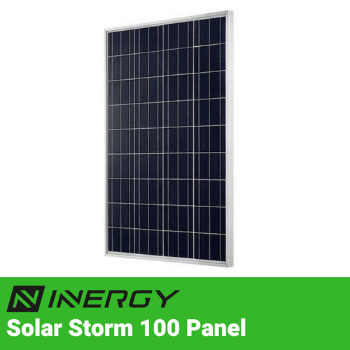 Inergy Solar Storm 100 Watt Solar Panel - TinyHouseSupplyShop.com
