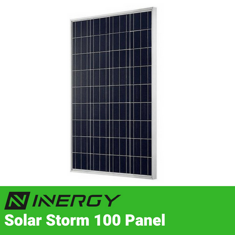 Image of Inergy Solar Storm 100 Watt Solar Panel - TinyHouseSupplyShop.com