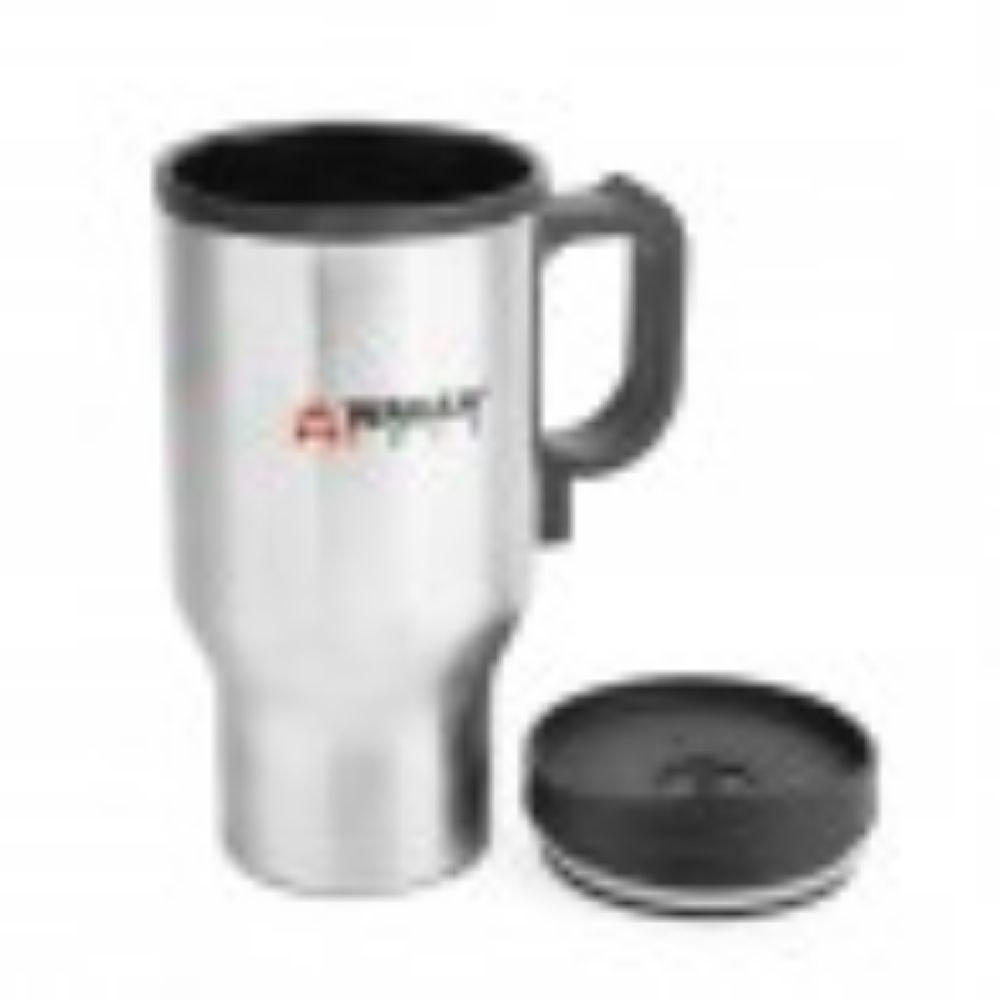 Wagan 12V Travel Mug - Pair (Silver) in Color Box - TinyHouseSupplyShop.com