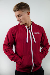 Zip-Up Lightweight Hoodie
