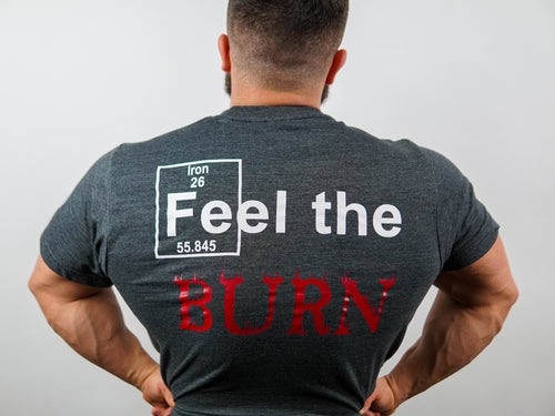 Feel The Burn Soft-Blend Tee   (Uni-Sex)