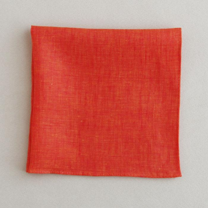 Color linen(41×41)(orange)