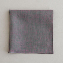 Color linen(41×41)(khaki×pink)
