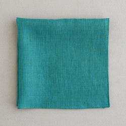 Color linen(41×41)(turquoise blue)