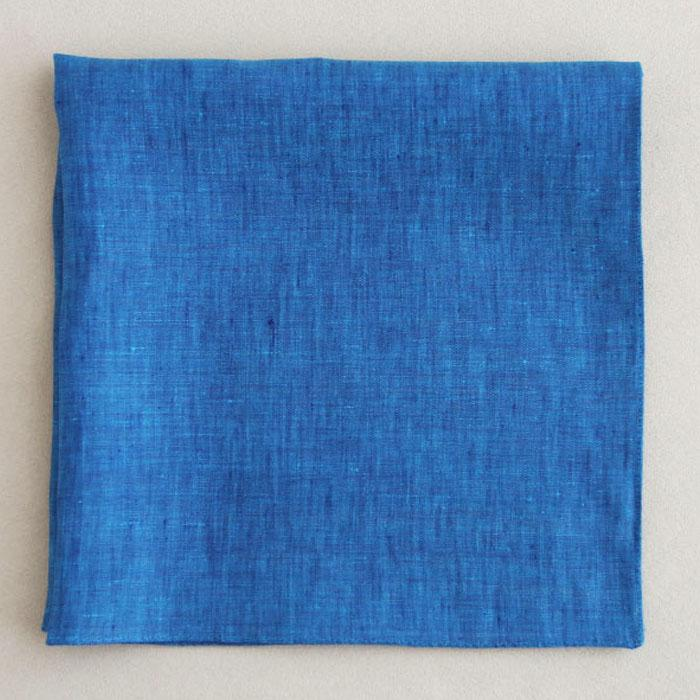 Color linen(47×47)(blue)