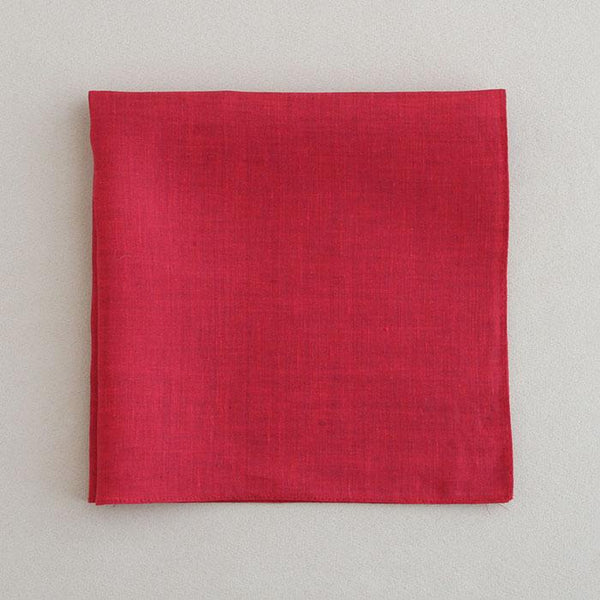 Color linen(41×41)(wine)