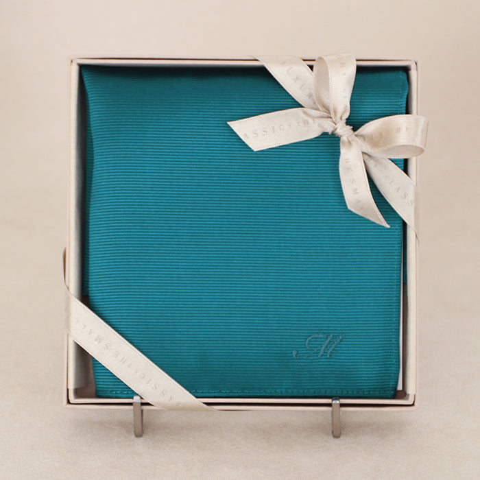 Pocket chief Type B(turquoise blue)