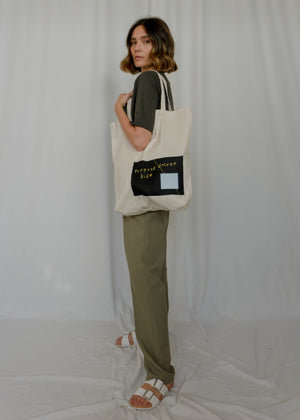 purpose driven life totebag