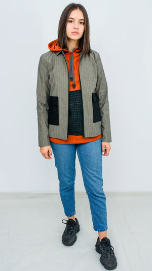 STRIPED BRIAN JACKET