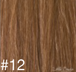 #12 Warm Blonde Hair Extensions - 100% Russian Remy High Quality Tape Hair Extensions