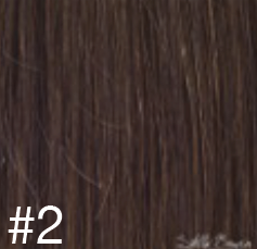 #2 Medium Brown Hair Extensions - 100% Russian Remy High Quality Tape Hair Extensions