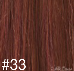 #33 Deep Copper Hair Extensions - 100% Russian Remy High Quality Clip In Extensions