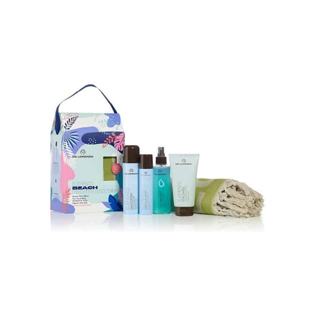 De Lorenzo Elements Beach Favourites Quad Pack with Towel