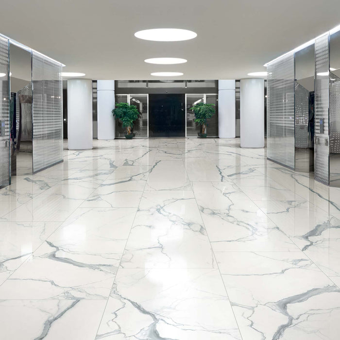 Tile commercial flooring