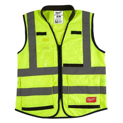 Milwaukee high visibility safety vest