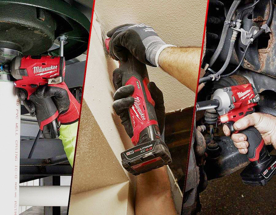 Milwaukee Tool tools in action