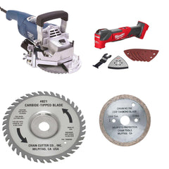 Jamb and undercut saws from Crain and Milwaukee Tool