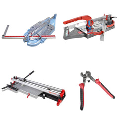 Score and snap tile cutters from Sigma, Montolit and Rubi Tools