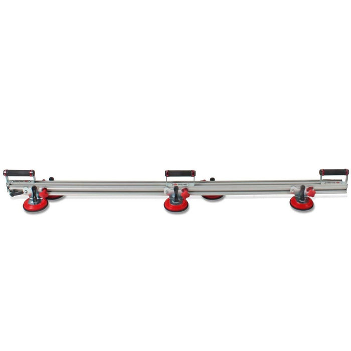 Rubi Slim Easytrans Thin Panel Transport Kit with six suction cups is for moving large thin panel porcelain tile