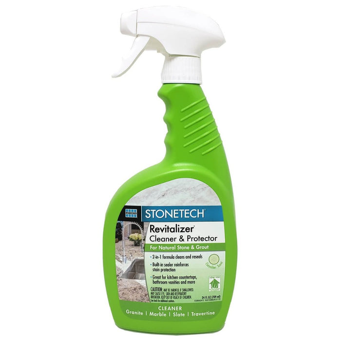 StoneTech Revitalizer Cleaner & Protector, Cucumber Scented 24 oz spray bottle