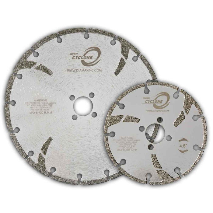 Diamax Super Cyclone Electroplated Diamond Blades
