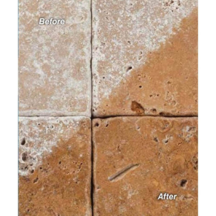 UltraCare Concentrated Tile Cleaner before and after