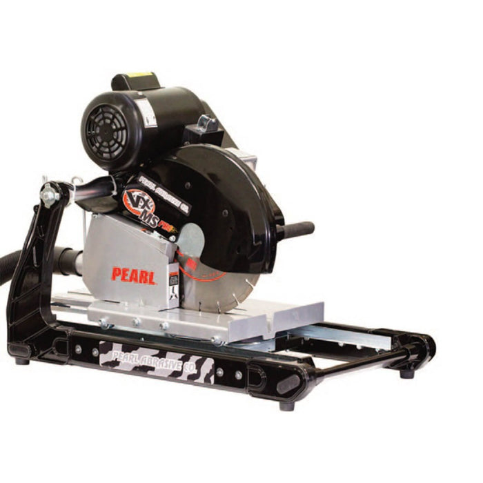"Pearl Abrasive 14"" VX141MSPROD Professional Masonry/Brick Saw with dust containment table"