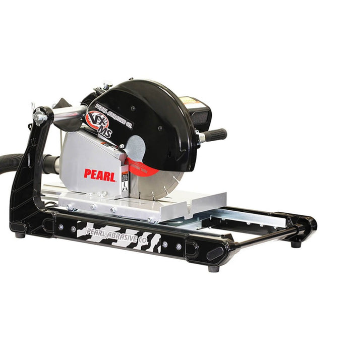"Pearl Abrasive VX141MSD 14"" Masonry/Brick Saw with dust containment table"