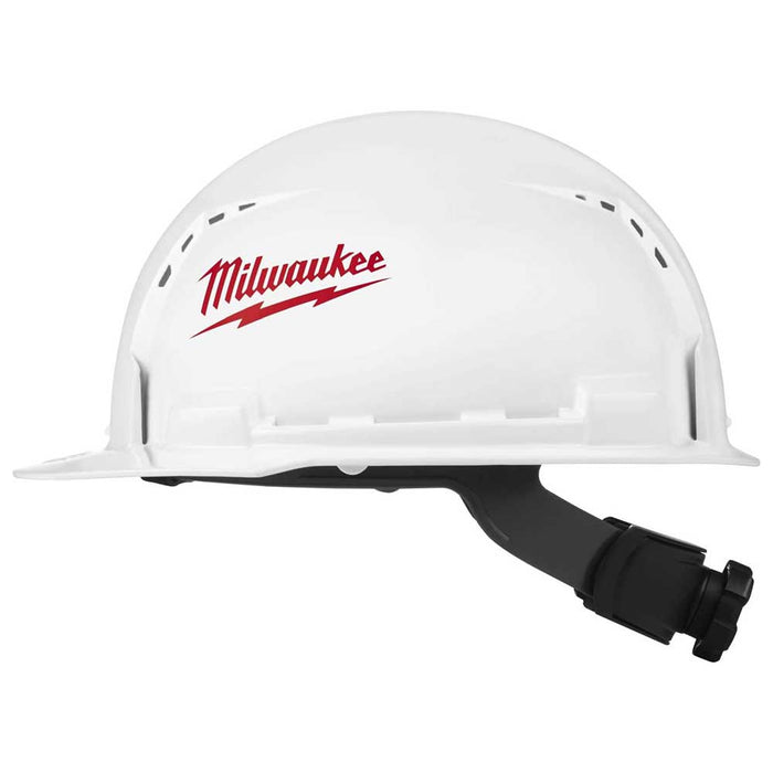 Milwaukee Tool Front Brim Hard Hats - Vented Class C