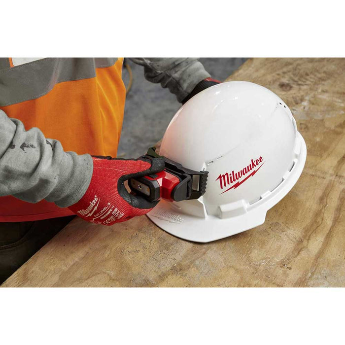 Milwaukee Front Brim Hard Hat and optional light