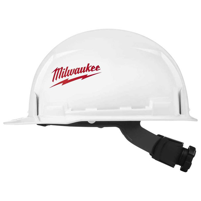 Milwaukee Tool Front Brim Hard Hats - Unvented Class E