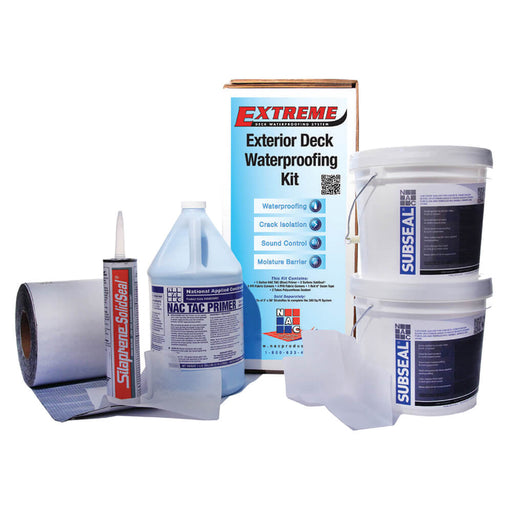 NAC Products Extreme Deck Waterproofing Kit