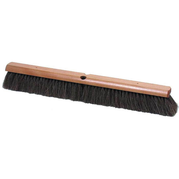 "Marshalltown 24"" Wide Block Horsehair Brooms"