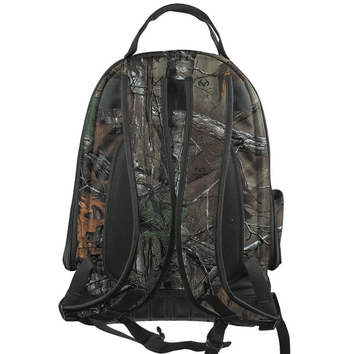 Klein Tools Tradesman Pro Camo Tool Backpack, rear view