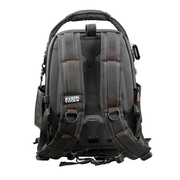 Klein Tools Tradesman Pro Tool Master Backpack, rear view