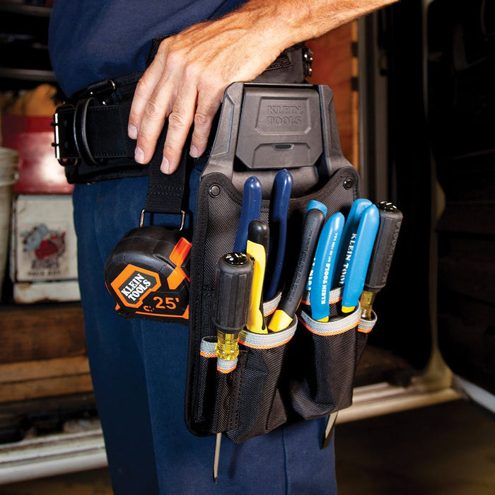 Klein Tradesman Pro™ Modular Piping Tool Pouch with Belt Clip